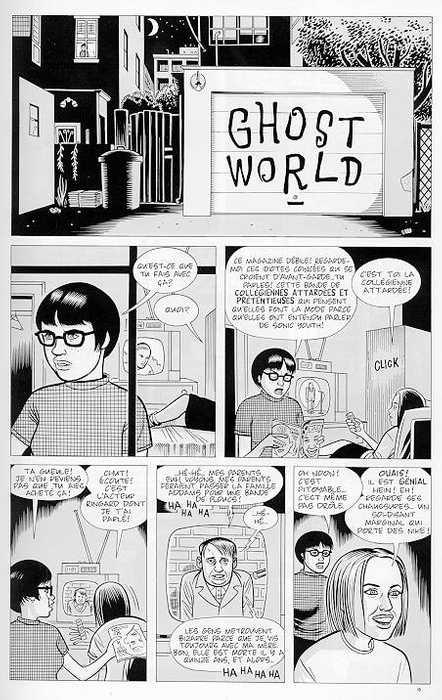 UNDERGROUND: EL COMIC PARA ADULTOS. GhostWorldpage